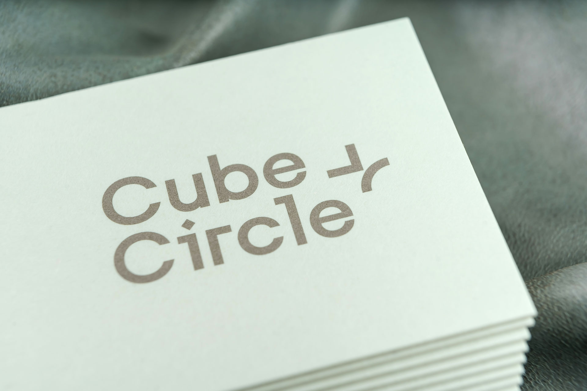Cube + Circle business cards
